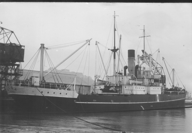 Italian Freighter Wreck Alga