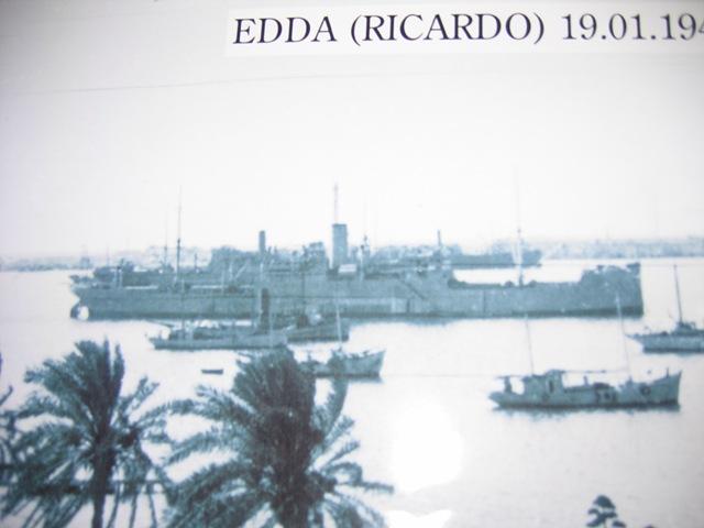 Wreck EDDA Italian Freighter